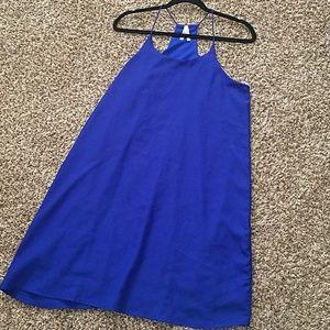 Sapphire Blue Truth NYC Slip Dress